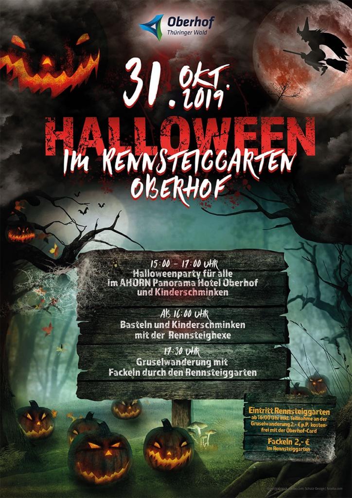Halloween im Rennsteiggarten