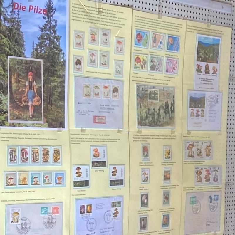 Rennsteiggarten Oberhof Briefmarkenausstellung